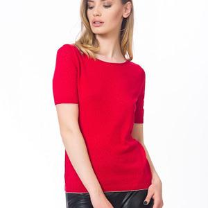 Bluza rosie tricotata scaled