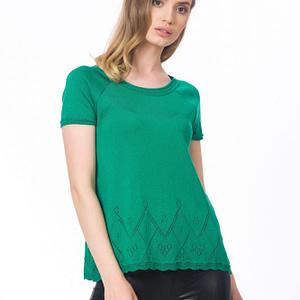 Bluza verde regular