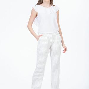 Pantaloni albi cu dungi 1 scaled