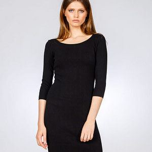 Rochie neagra little black dress 4 scaled