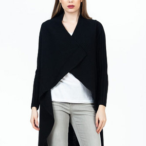 cardigan negru scaled