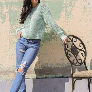 casual open knit jumper in mint green aimelia br2412 9772 1 scaled