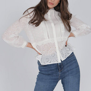delicate cotton blouse aimelia br2418 off white with a lace trim 9786 1 scaled