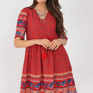 boho-style-tunic-dress-aimelia-dr4279-in-a-red-border-print-9794-1