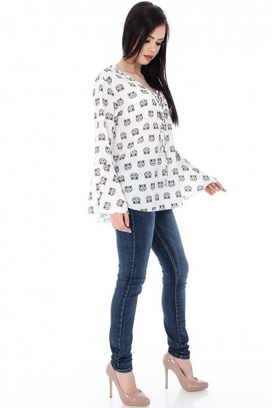 bluza cu imprimeu pisicute clb201 5614 1