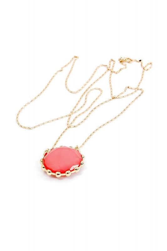 lantisor cu piatra roz a074 3618 1