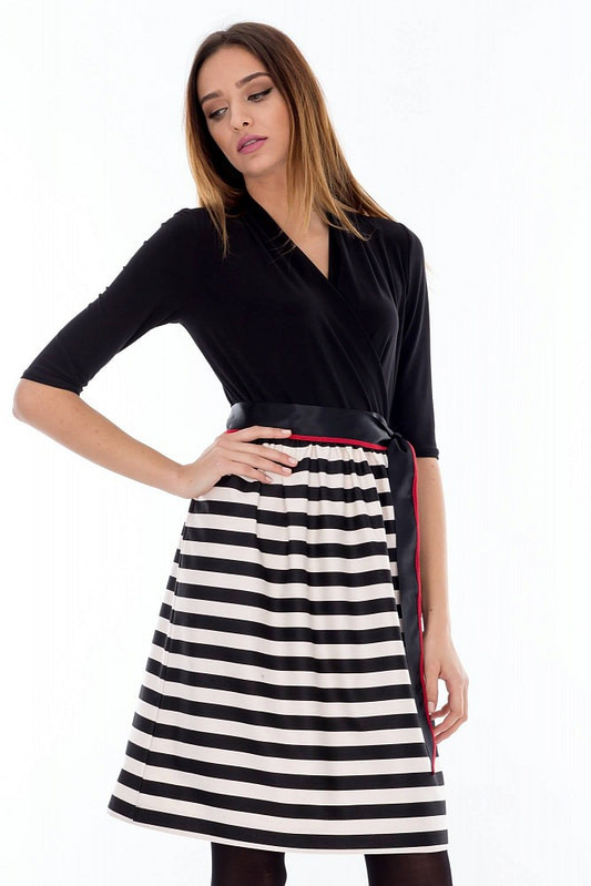 rochie alb negru dr2244 3466 1