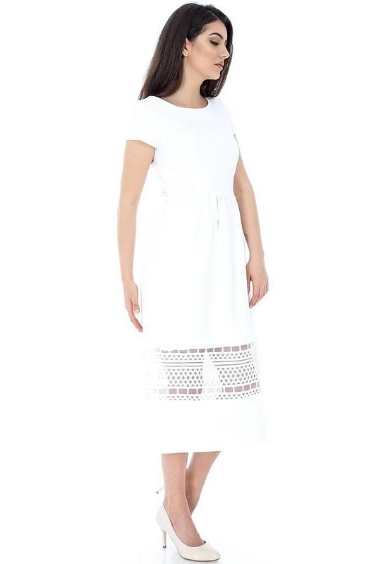 rochie alba cu dantela dr3011 5875 3