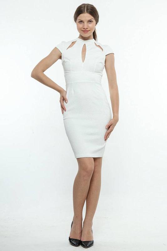 rochie alba de ocazie 589 1
