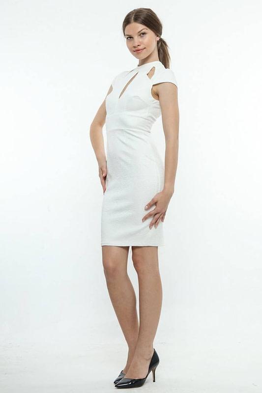 rochie alba de ocazie 589 2