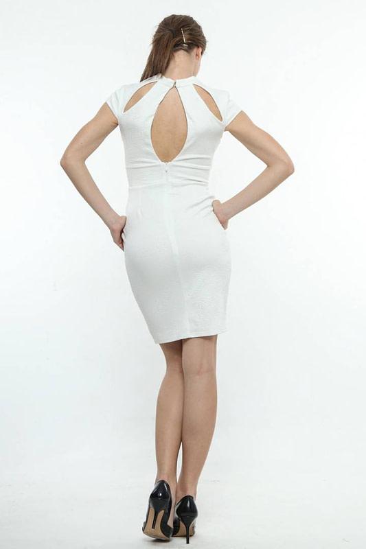 rochie alba de ocazie 589 3
