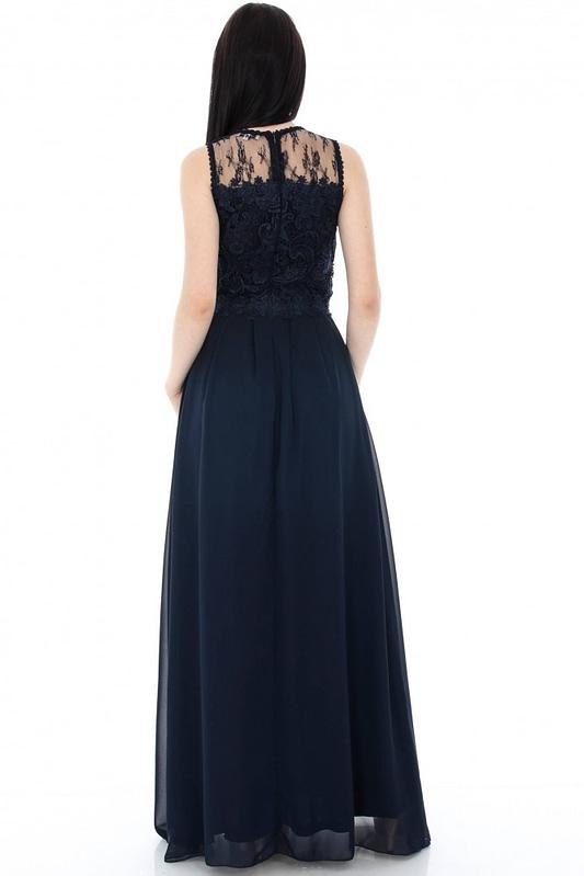 rochie bleumarin eleganta dr2882 5569 2