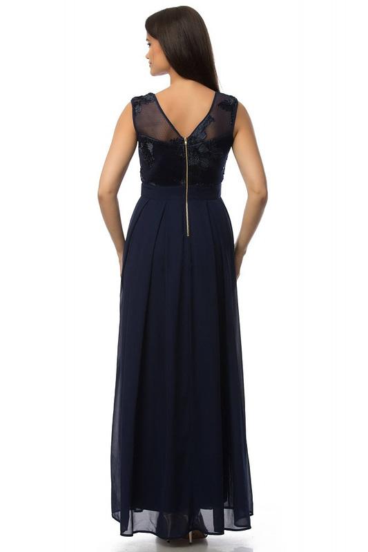 rochie bleumarin eleganta dr3030 5909 2