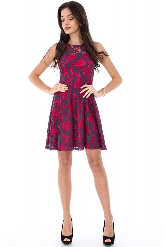 rochie cerise delicata dr3004 5877 3