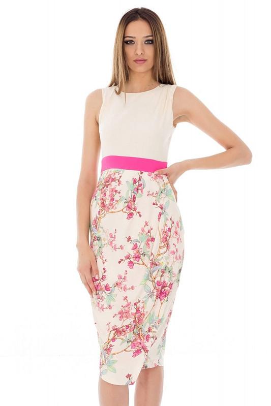 rochie cu imprimeu floral dr1946 2876 1