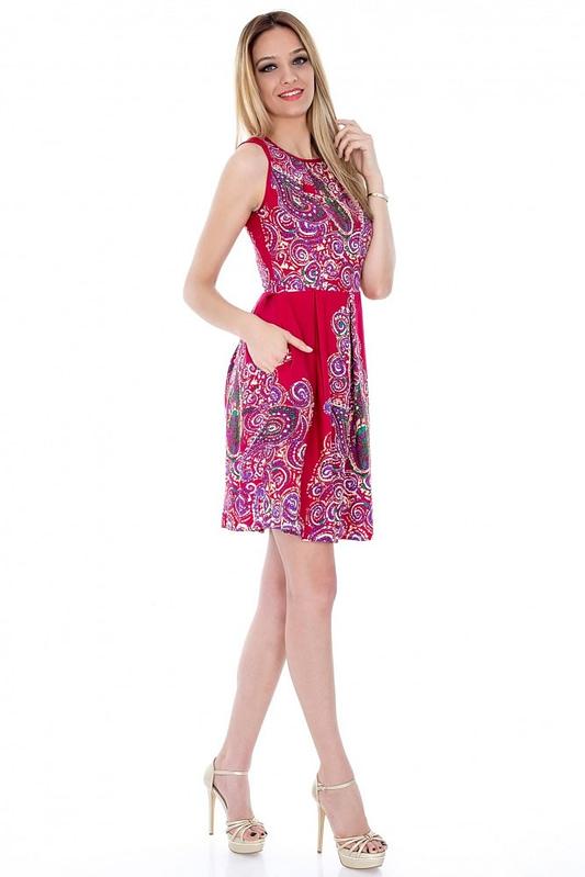 rochie de colectie imprimata dr1908 2823 2