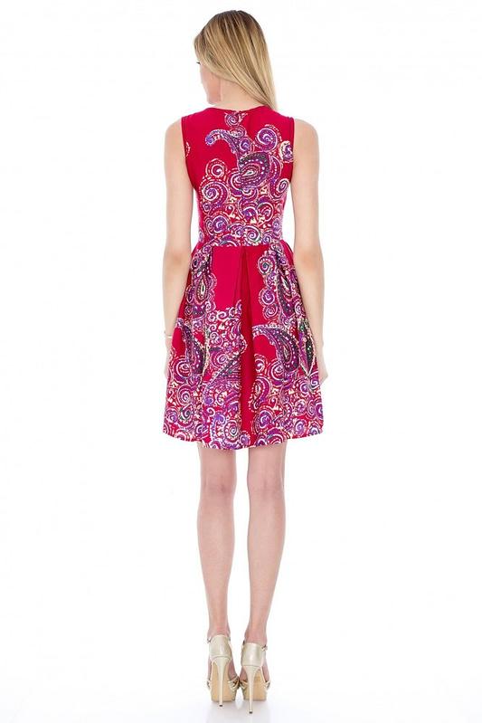 rochie de colectie imprimata dr1908 2823 3