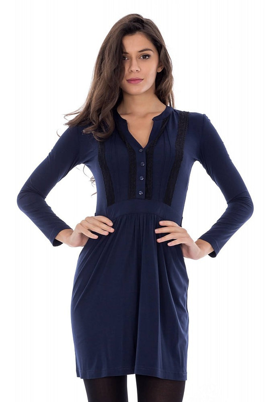 rochie de zi cu dantela dr2183 3303 1