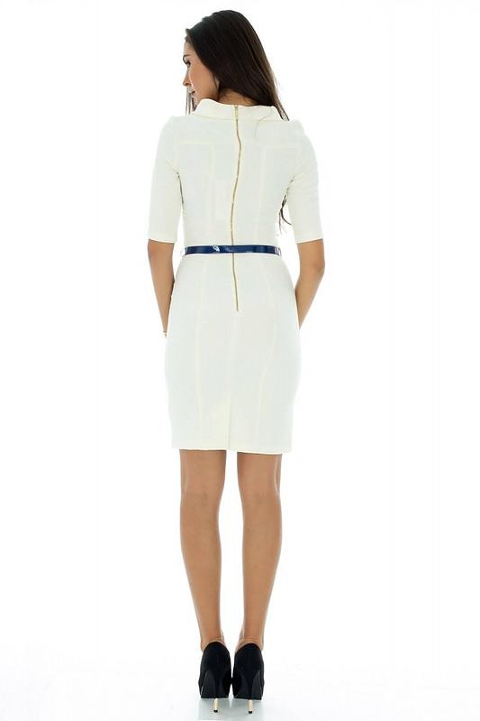 rochie midi cu curea dr2060 3021 2