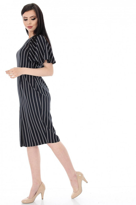 rochie neagra office in dungi dr2904 5646 2