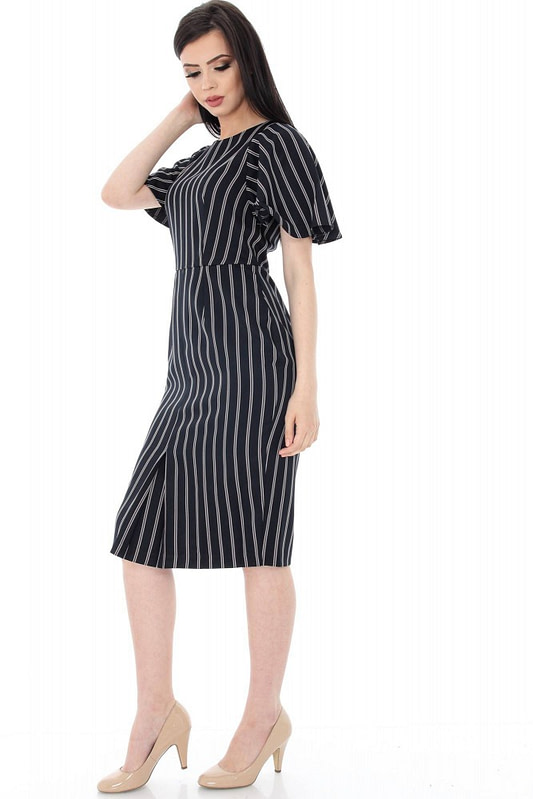 rochie neagra office in dungi dr2904 5646 3