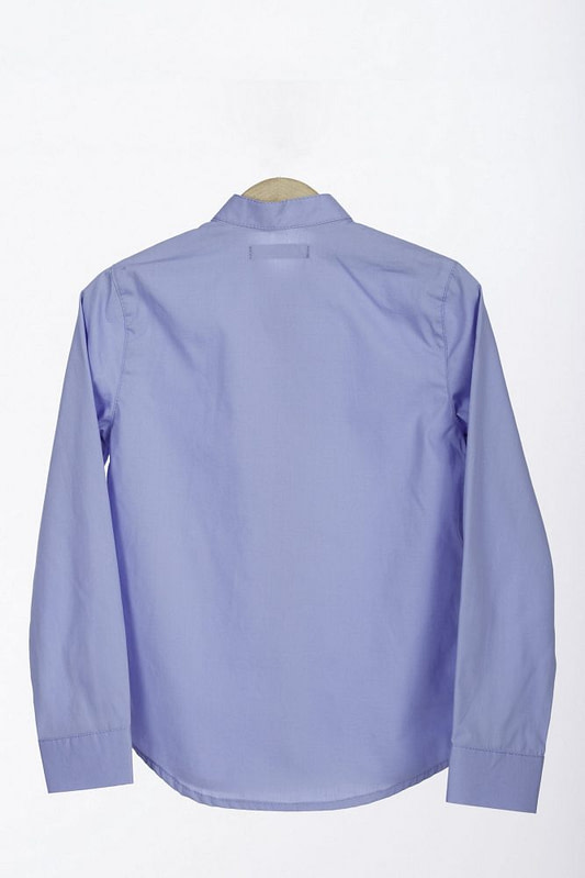 Camasa tunica bleu bumbac 1 scaled