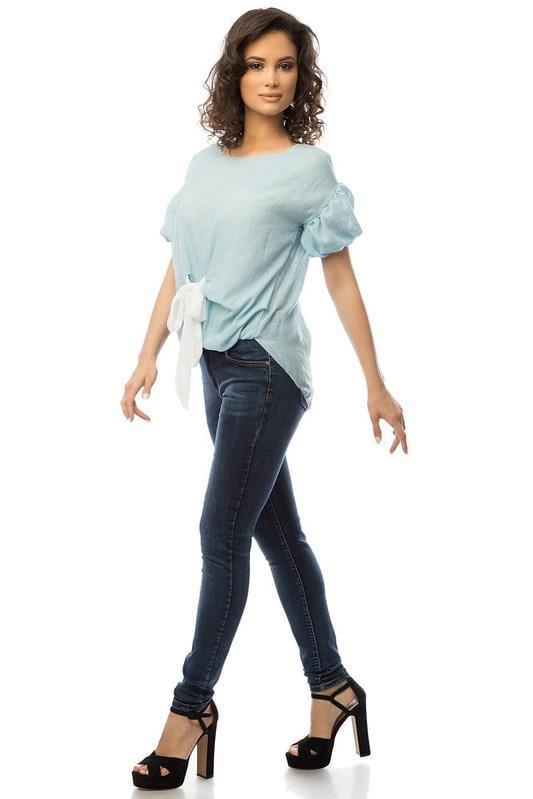 bluza albastra cu funda alba br1369 5719 2 scaled