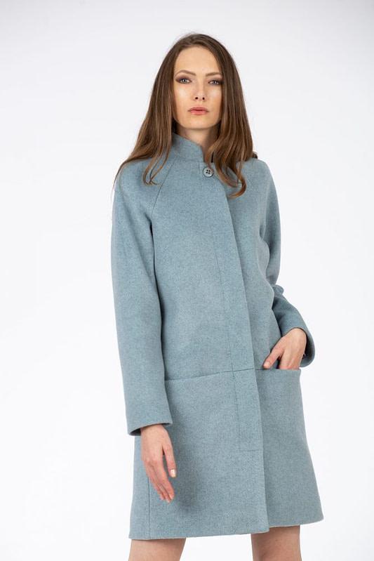 Palton bleu scaled