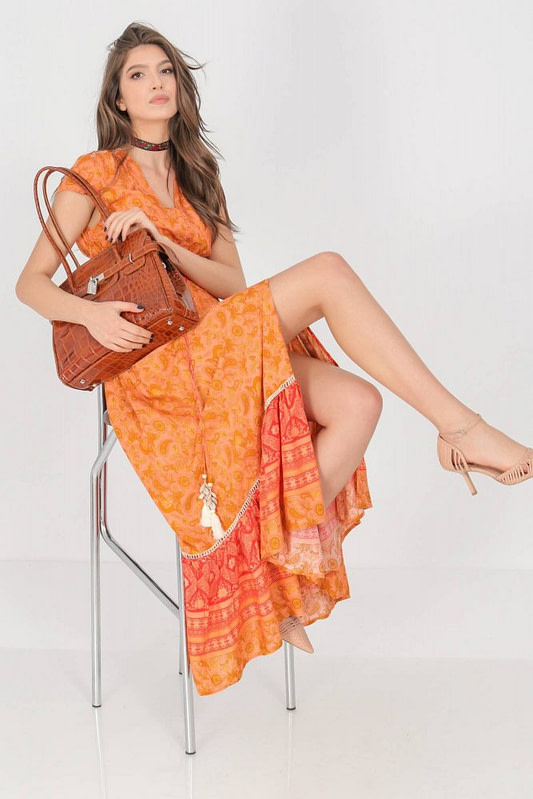 a summer maxi dress aimelia dr4274 in a vibrant orange print 9785 3 scaled