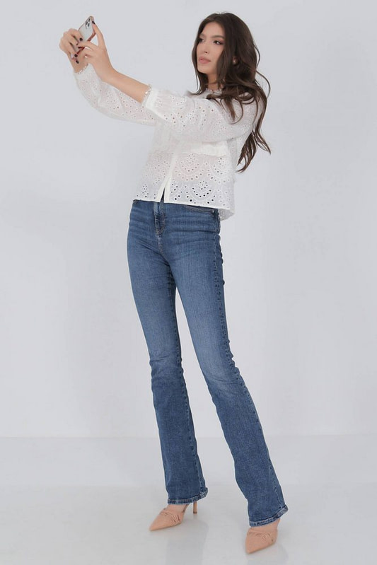 delicate cotton blouse aimelia br2418 off white with a lace trim 9786 2 scaled