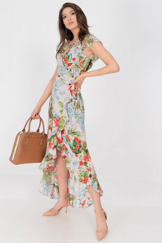 floral maxi dress aimelia dr4272 in beige in a wrap over cut 9783 3 scaled