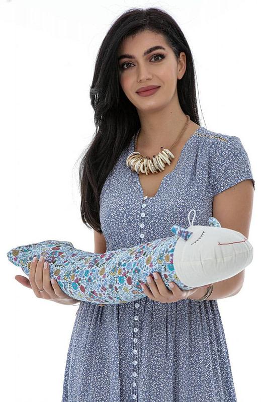 perna in forma de melc cu lavanda naturala albastru floral roh a0449 9764 1 scaled