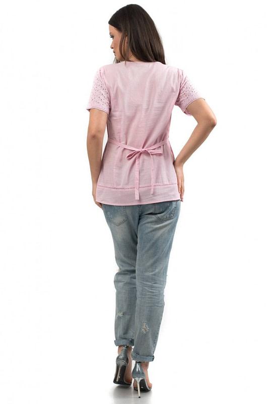 bluza din bumbac cu broderie br553 r 1657 3