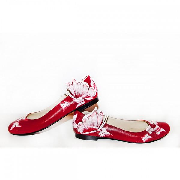 balerini piele pictati manual red mix c200 2