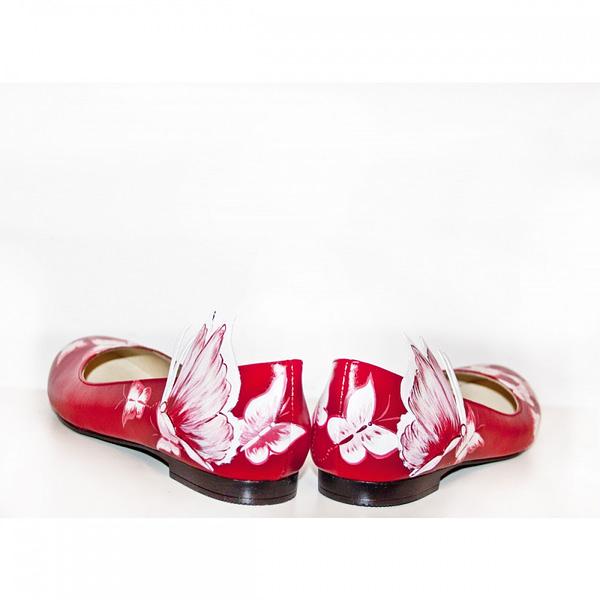 balerini piele pictati manual red mix c200 5