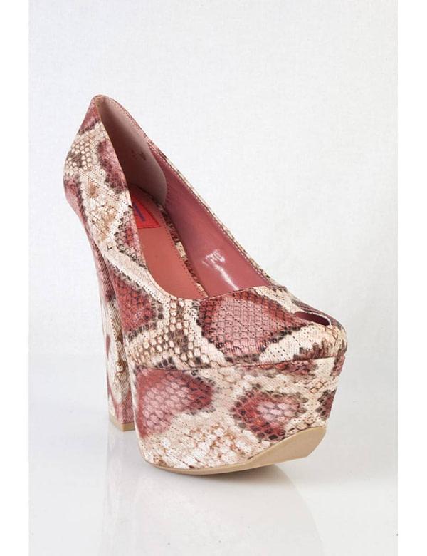 pantofi cu imprimeu de sarpe anne 01 rd 5676 2