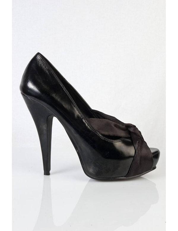 pantofi negri accesorizati cu funda emma 03 bk 5681 3