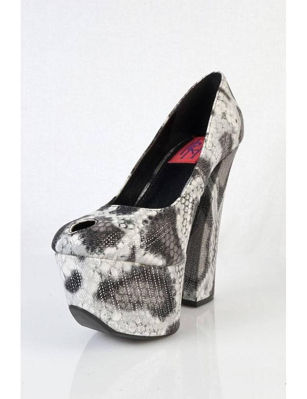 pantofi negri cu imprimeu sarpe anne 01 bk 5677 1