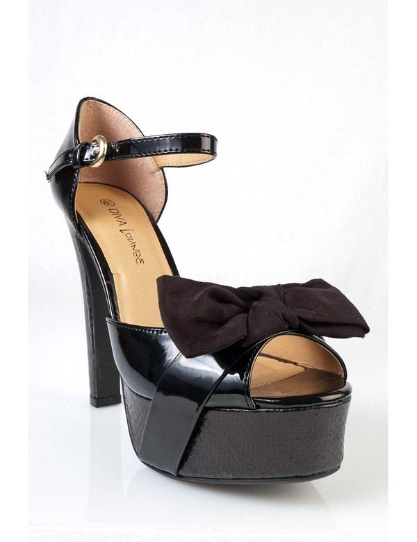 sandale negre cu platforma sabine 06 bk 5687 1